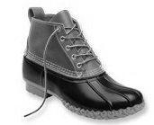 l.l. bean 6'' rubber boot