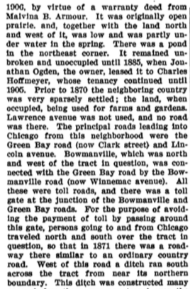 excerpt of a 1910 property case